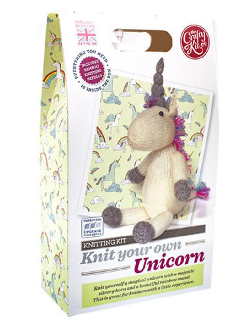 The Crafty Kit Co. Knit Your Own Unicorn Kit