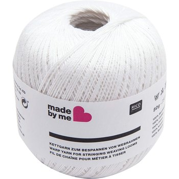 Rico Design Rico Warp Yarn - White 50g