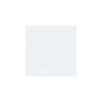 Zweigart Aida Cloth - 14 Count - White - 1/4m