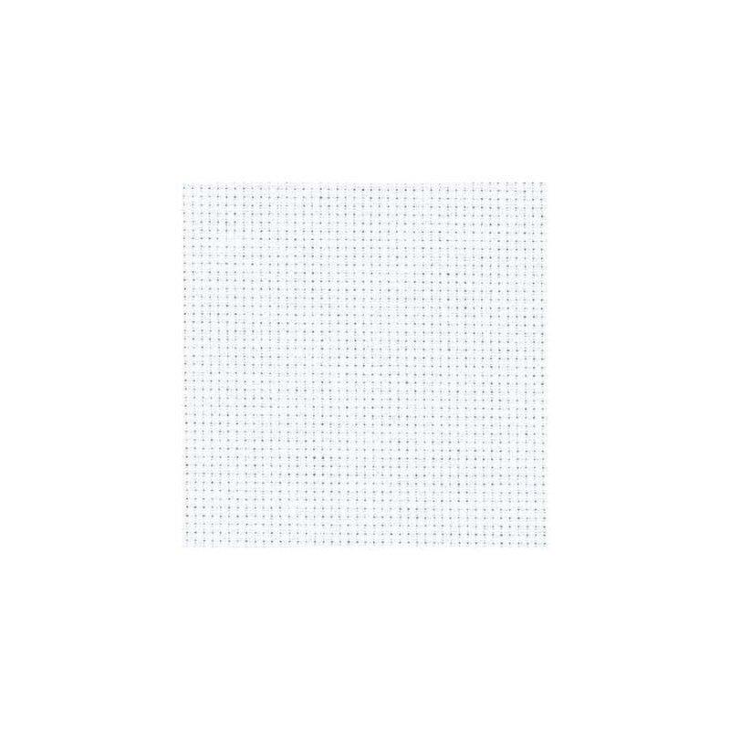 Zweigart Aida Cloth - 14 Count - White - 1/4m