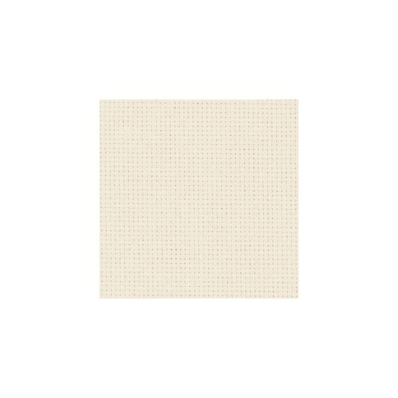 Zweigart Aida Cloth - 14 Count - Ivory - 1/4m