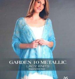Universal Yarn Garden 10 Metallic Lacy Knits by Kristin Hansen