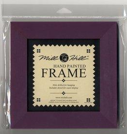 "Mill Hill Mill Hill 6""x6"" Hand Painted Frame - Purple Iris"