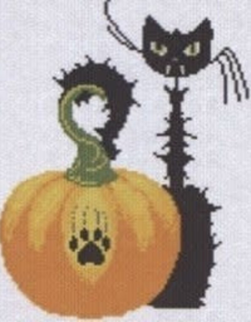 Alessandra Adelaide Needleworks Hallowe'en Meow