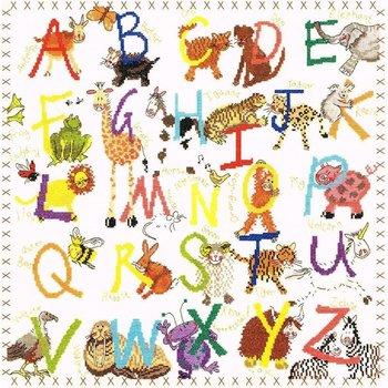 Bothy Threads Alphabet Animal Sampler