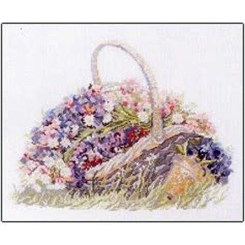 Permin of Copenhagen Basket With Flowers