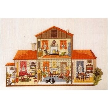 Permin of Copenhagen Doll House