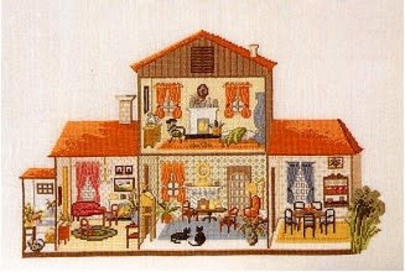 Permin of Copenhagen Doll House