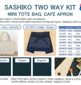 Olympus Olympus Sashiko Kit - Mini Tote Bag / Cafe Apron