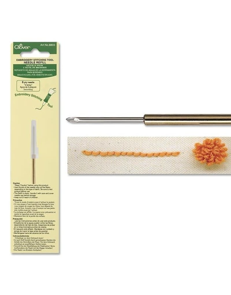 Clover Clover Needle Punch / Embroidery Stitching Tool Needle Refill