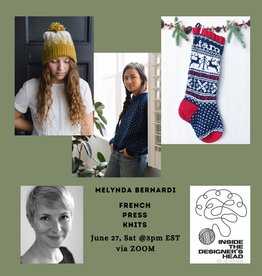 PAST EVENT: Inside the Designer's Head: French Press Knits