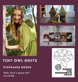 PAST EVENT: Inside the Designer's Head: Tiny Owl Knits