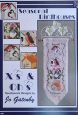 X's & Oh's X's & Oh's Seasonal Birdhouses