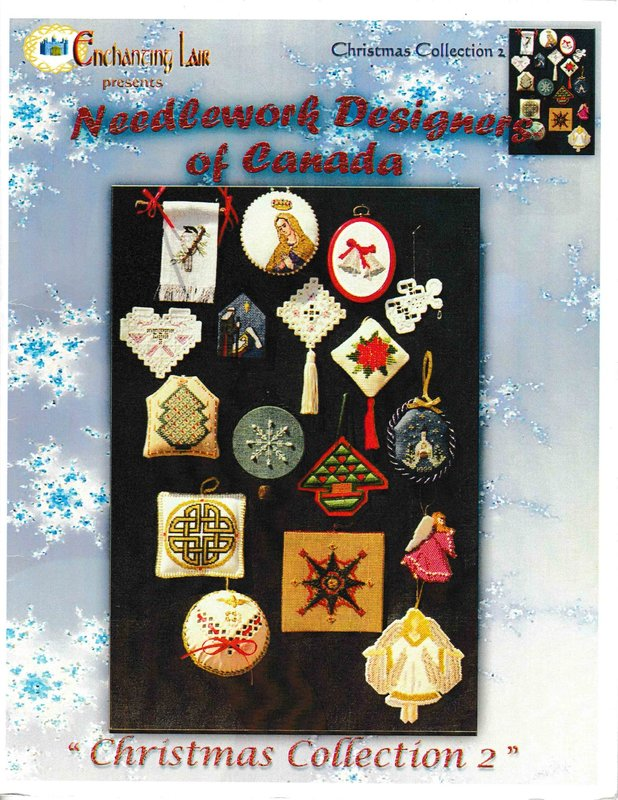 X's & Oh's Enchanting Lair Needlework Designers of Canada Christmas Collection II