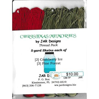 Jar Designs Jar Designs Christmas Memories - Thread Pack
