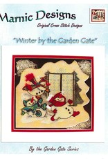 MarNic Designs Marnic Designs Winter By The Garden Gate