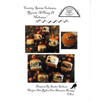 "Homespun Elegance Homespun Elegance Country Spirits Collection Rounds a Plenty II ""Halloween"""