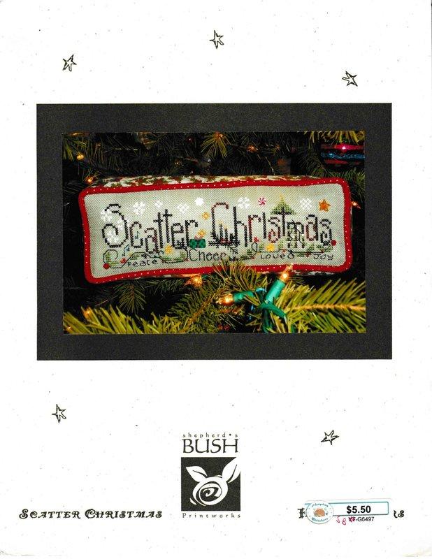 Shepherd's Bush Printworks Shepherd's Bush Printworks Scatter Christmas