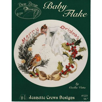 Jeanette Crews Designs Jeanette Crews Designs Baby Flake by Cecila Votta #1221