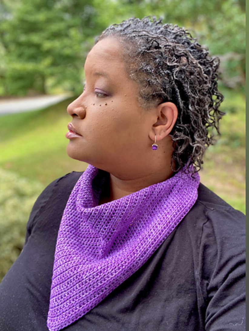 Crocheted emPower People Cowl