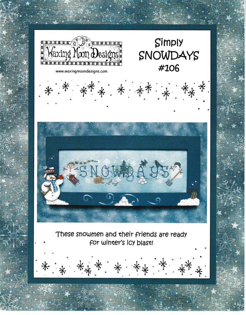 Waxing Moon Designs Waxing Moon Designs Simply Snowdays #106