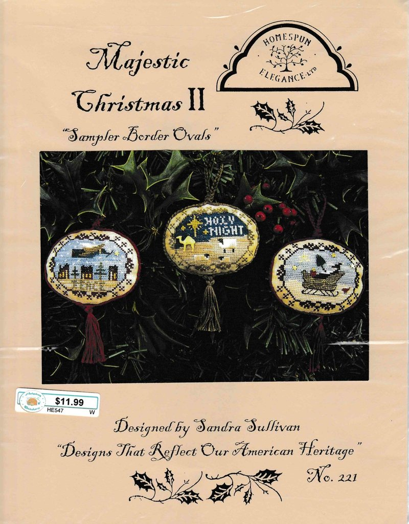 Homespun Elegance Homespun Elegance Majestic Christmas II