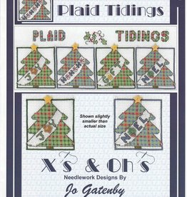 X's & Oh's X's & Oh's Plaid Tidings