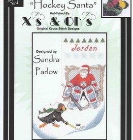 X's & Oh's X's & Oh's Hockey Santa