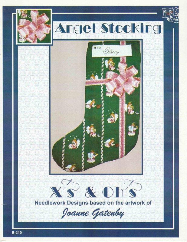 X's & Oh's X's & Oh's Angel Stocking