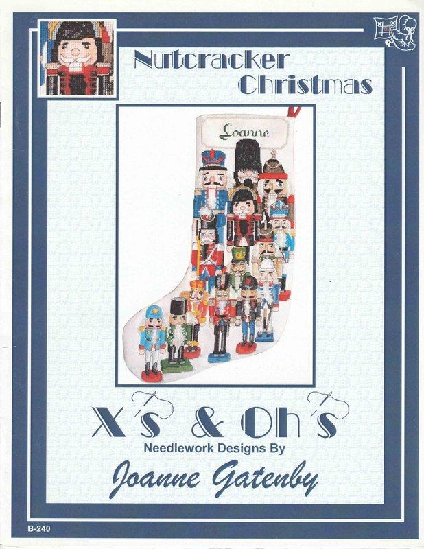 X's & Oh's X's & Oh's Nutcracker Christmas Stocking