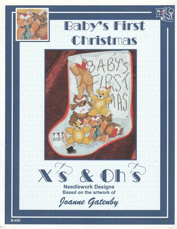 X's & Oh's X's & Oh's Baby's First Christmas