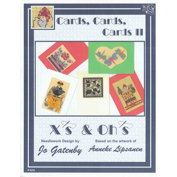 X's & Oh's X's & Oh's Cards, Cards, Cards II P-610