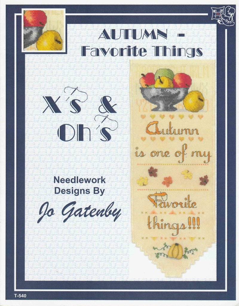 X's & Oh's X's & Oh's Autumn - Favorite Things T-540