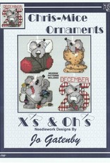 X's & Oh's X's & Oh's Chris-mice Ornaments B-765*