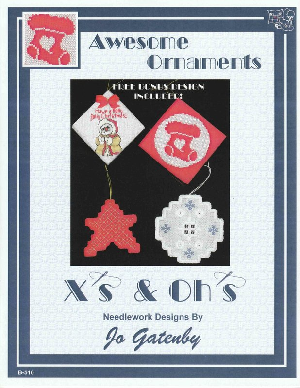 X's & Oh's X's & Oh's Awesome Ornaments
