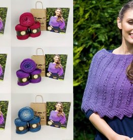 Euro Yarns Annie Wrap in EYB Arenaria