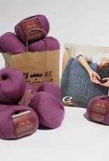 Ella Rae Basket Weave Throw in Ella Rae Classic Superwash Wool
