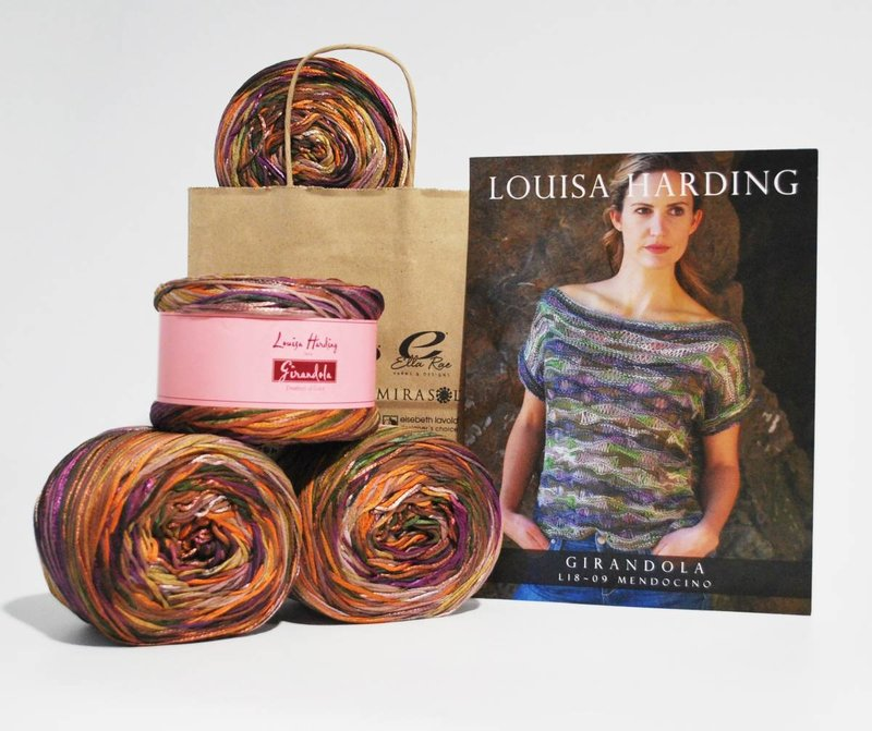 Louisa Harding Mendocino Top in Louisa Harding Girandola