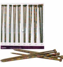 Knit Picks Knit Picks Rainbow Wood Straight Needle Set