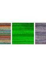 Urth Yarns Drachenfels Shawl Kit in Urth Uneek Fingering & Monokrom Fingering