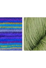 Urth Yarns Eyes on U Shawl Kit in Urth Uneek Fingering & Harvest Fingering