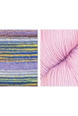 Urth Yarns Synchronicity Shawl Kit in Uneek Worsted & Harvest Worsted