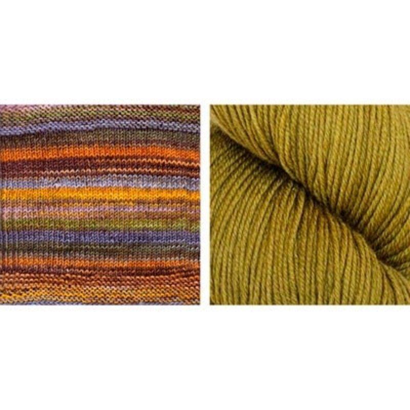 Urth Yarns Butterfly Cowl Kit in Urth Uneek & Harvest Fingering