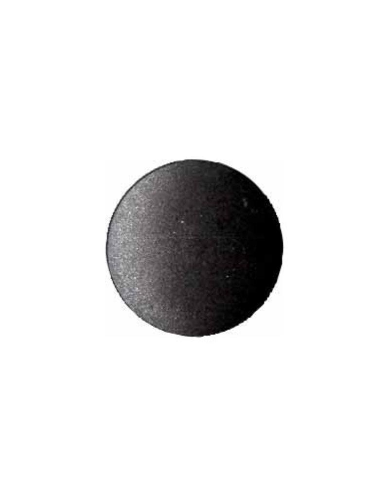 Elan ELAN Round Black 15mm Shank Button - 3-pk