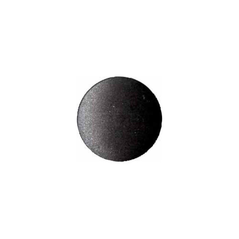 Elan ELAN Round Black 15mm Shank Button - 3-pk