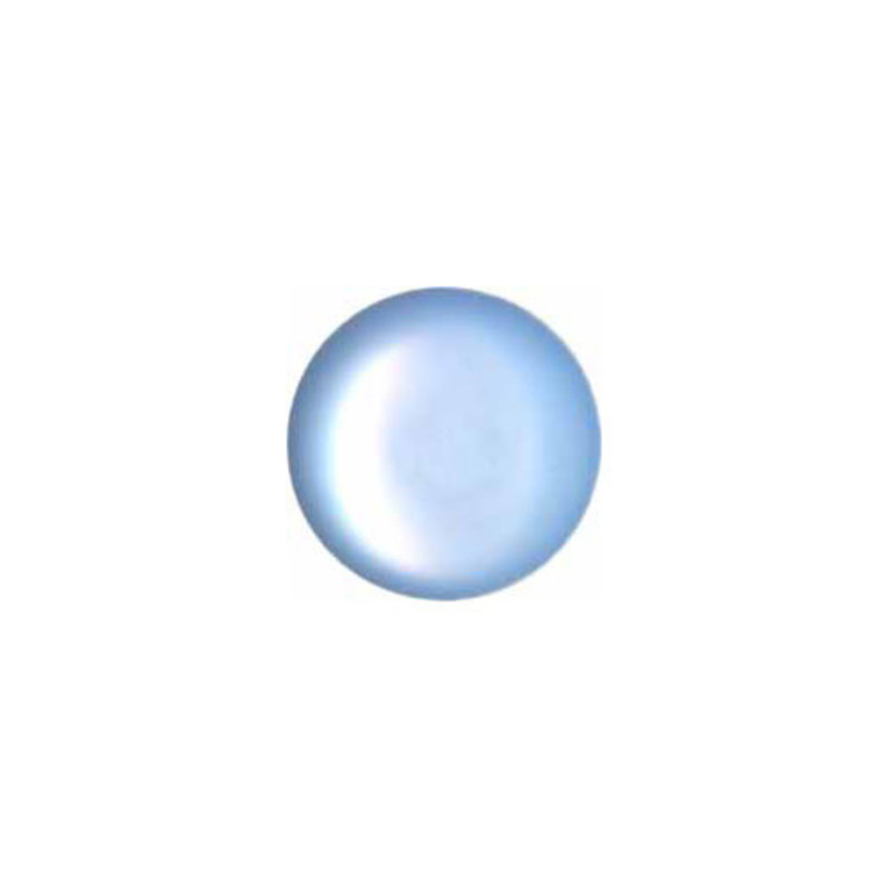 Elan Elan Round Blue 11mm Shank Button - 4-pk
