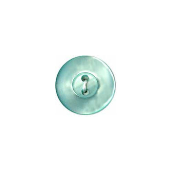 Elan Elan Round Mint 13mm Shank Button - 4-pk