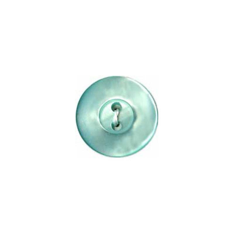 Elan Elan Round Mint 15mm 2-Hole Button - 3-pk