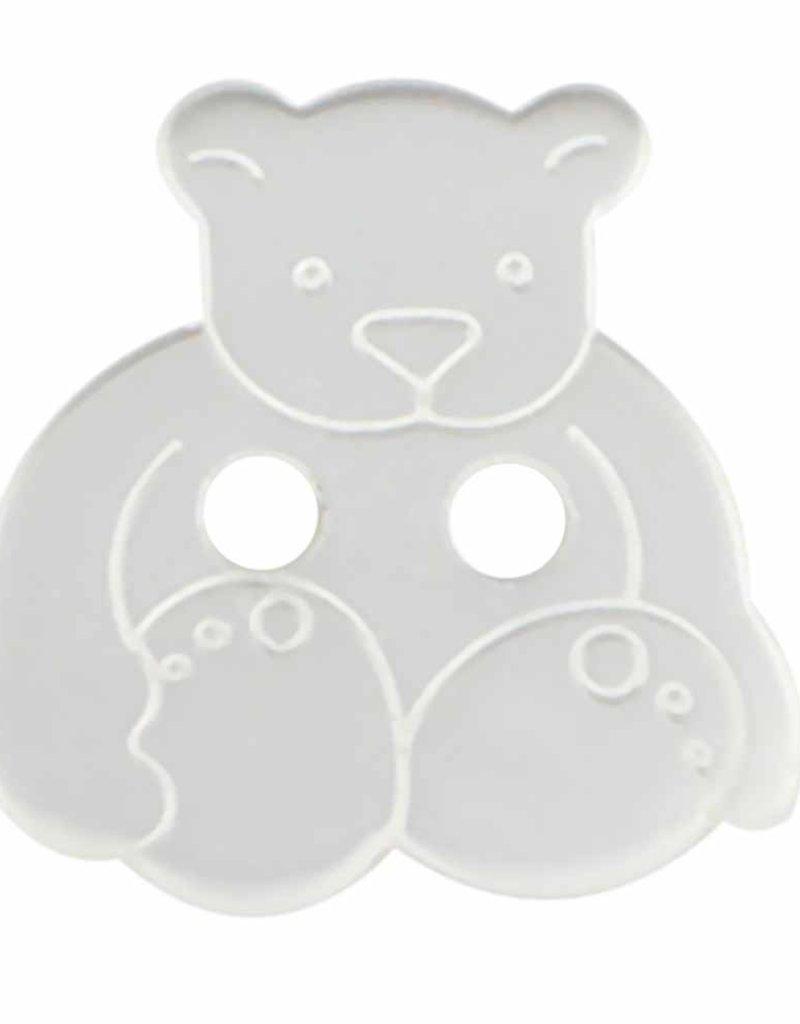 Cirque Cirque Teddy Bear 18mm 2-Hole Button