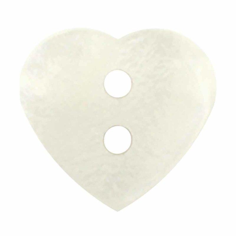 Cirque Cirque Heart 15mm 2-Hole Button